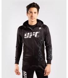 BLUZA VENUM UFC AUTHENTIC FIGHT WEEK ZIP HOODIE BLACK
