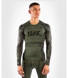 LONGSLEEVE PERFORMANCE VENUM UFC AUTHENTIC FIGHT WEEK KHAKI