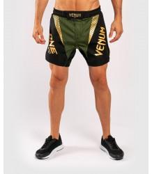 SPODENKI MMA VENUM X ONE FC FIGHTSHORTS KHAKI GOLD