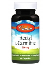 CARLSON LABS Acetyl L-Carnitine 60 caps