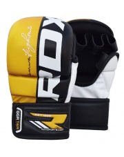 RĘKAWICE MMA RDX T6 SPARRING SPARINGOWE YELLOW