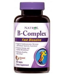 Natrol B-Complex Fast Dissolve 90 tablets