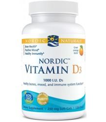 Nordic Naturals Nordic Vitamin D3 120 softgels