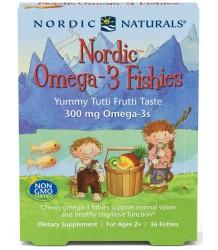 Nordic Naturals Nordic Omega-3 Fishies 36 caps