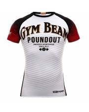 RASHGUARD POUNDOUT GYM BEAM SHORT SLEEVE
