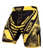 Spodenki MMA Venum Technical Black Yellow