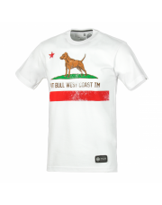 T-SHIRT KOSZULKA PIT BULL CALIFORNIA FLAG 17