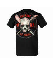 T-SHIRT KOSZULKA PIT BULL BUSINESS US USUAL