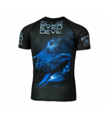 RASHGUARD PIT BULL BLUE EYED DEVIL X SHORTSLEEVE