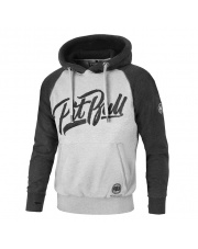 BLUZA PIT BULL EL JEFE 17 HOODED GRAPHITE