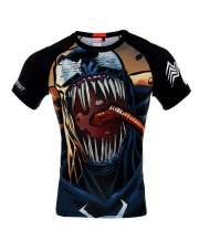 RASHGUARD POUNDOUT MARVEL VENOM 2.0 SHORT SLEEVE