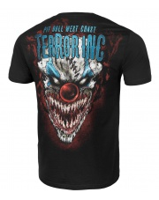T-SHIRT KOSZULKA PITBULL PIT BULL TERROR CLOWN