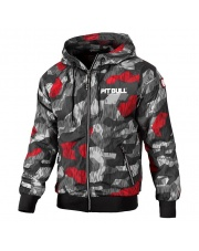 KURTKA PIT BULL ATHLETIC 7 BLACK RED CAMO